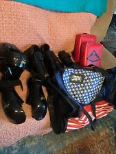 Taekwondo Karate Sparring Gear Full Set 10 Pieces Adult X-Large Great Condition
