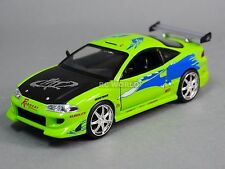 1/24 DieCast 1995 MITSUBISHI ECLIPSE Fast & Furious Model Car  GREEN
