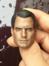 "1:6 Scale Superman Hero Henry Cavill Head Sculpt Fit 12"" Male Action Figure Body"
