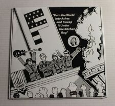 F Burn The World And...LP punkrecords.com Rec V13PNX-15 US 2013 M SEALED 00E