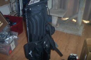 BRAND NEW Mizuno BR D3 Stand bag  4 way top  Black