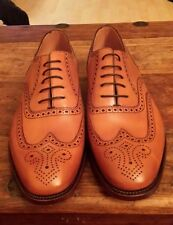 LOAKE MENS  DESIGN SMART LACE UP  LEATHER FORMAL SHOES SIZE 8 NEW