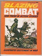 Blazing Combat #2, Signed AL WILLIAMSON, FRANK FRAZETTA Cover, Warren 1966 VG+ r