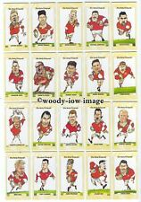 X24 CARDS - EXC+++ RUGBY WIGAN POLICE-FULL SET- RIVERSIDERS