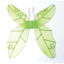 Green Ladies Butterfly Wings - Fancy Dress Adult Accessory Fairy Fancy Dress