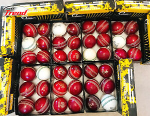 🏷️SALE🏷️WEST TREND ® FACTORY OVER PRODUCTION CRICKET BALLS, Box of 6,🏷️