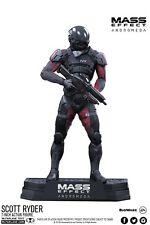 Mass Effect Andromeda: 18cm Scott Ryder Coleccionistas Estatua Estatuilla Figura De Acción