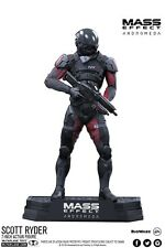MASS EFFECT ANDROMEDA: 18cm Scott RYDER da collezione Statua Statuetta action figure