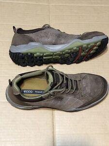 ECCO Yak Leather Receptor Technology Hiking Shoes Men's US Sz 8 - 8.5 - EU Sz 42