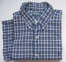 Polo by Ralph Lauren Hemd kurzarm - Gr L - blau kariert - sehr gut 131017-99