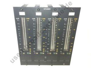 Peakmeter - Studer 1.950.640.22. Für D950S 4 x Kanal Pegelanzeigen