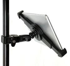 iShot G10 Pro iPad Pro Univ. Tablet Tripod Mic Music Mount + Pipe Bar Pole Clamp