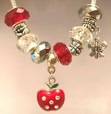 Set of 10 Beads Dangle Charm For European Bracelet Necklace Free Gift Bag #06