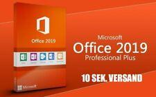Microsoft Office 2019 Professional Plus Key Vollversion, Lizenzschlüssel ✔10SEK✔