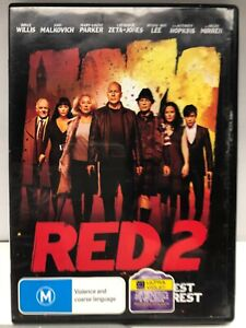 Red 2 - DVD - AusPost with Tracking