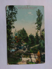 San Francisco USA Vintage colour Postcard 1907 Japanese Garden Golden Gate Park