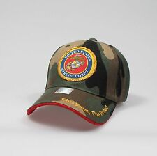 "U.S.Marines Adjustable ""One Size Fits Most"" Hat - Camo"