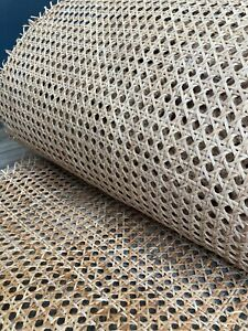 Natural Cane Webbing Roll Rattan Fabric 50cm width x various length (30cm-2m) UK