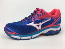 Mizuno Wave Inspire 13 2A Running Shoes - Women's Size 6 US, Blue/White/Pink