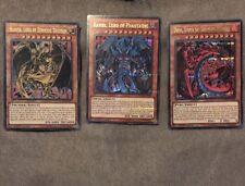 YUGIOH Raviel Hamon Uria - DUSA Sacred Beast Set - Ultra Rare - 1st Edition