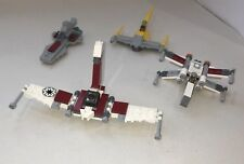 LEGO Star Wars Mini Polybag Bundle - 30053 Cruiser, 911609, 30051 X Wing, 8031-1
