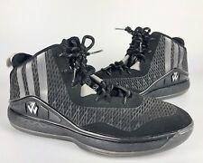 Adidas SM J Wall Black and Gray Basket Ball Show Size 17