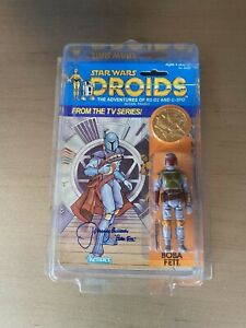 1985 star wars droids action figures boba fett