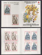 FRANCE FRANCIA 1983 Carnet Croix Rouge Francaise MNH**