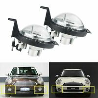 2x Front Bumper Fog Light DRL For Mini Cooper Clubman Roadster Countryman One