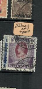 BURMA (P0202B)  KGVI  1R-2R   SG 30-1   VFU