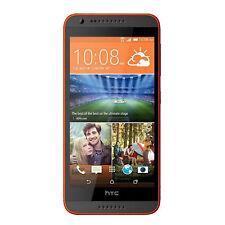 BNIB HTC Desire 620G Dual-SIM 8GB Matte Grey/Orange Trim Factory Unlocked 3G OEM