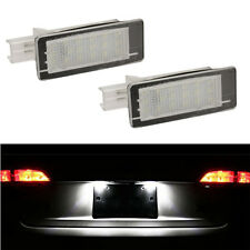 ECLAIRAGE PLAQUE LED DACIA DUSTER FEUX ARRIERE IMMATRICULATION BLANC XENON