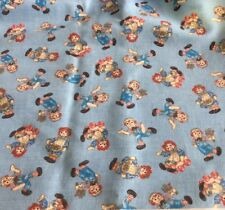 DAISY KINGDOM #4506 RAGGEDY ANN QUILTING MINI TOSS BY QUILTERS ONLY--1 1/2 YARD
