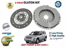 FOR JEEP PATRIOT 2.0DT 9/2008->ONWARDS NEW CLUTCH KIT 2 PIECE