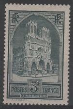 """FRANCE STAMP TIMBRE N° 259 """" CATHEDRALE REIMS 3F TYPE I """" NEUF xx TTB  N342"""