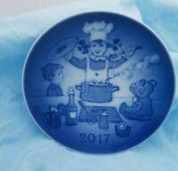 "2017 Bing & Grondahl B&G Children's Day Plate "" The Little Chef"""