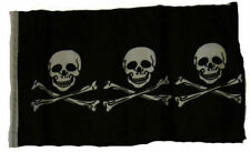 "12x18 12""x18"" Jolly Roger Pirate Chris Condent Realistic Sleeve Flag Garden"