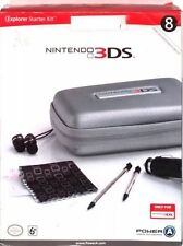 NINTENDO 3DS BLACK  EXPLORER STARTER KIT