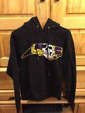 Adult Jerzees East Carolina Black Small Pirates Hoodie Sweatshirt