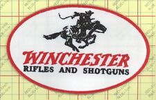 Winchester Patch Iron on Firearms Gun Pistol Hunter Rifle Handgun Police Arms 48