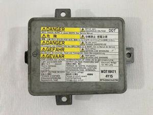 04-05 Acura TSX Xenon HID Headlight Ballast OEM 33119-SCC-003 W3T10471