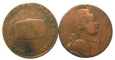 ~~ Angleterre Great Britain: 2 Half Penny Token 1794 et 1793   ~~