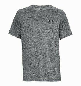 New Under Armour Tech Tee T-Shirt Black 1326413 Men's 3XLT  Tall