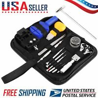 Watch Repair Tool Kit Case Opener Link Remover Spring Bar Tool – Carrying Case