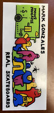 Vintage Mark Gonzales Skateboard Sticker Nos Gonz Real Krooked Supreme Vision