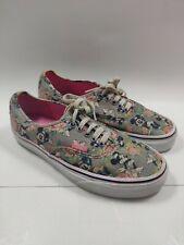 VANS Shoes Disney Authentic MINNIE MOUSE Digi Roses Women's 8.5  Men's 7