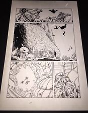 Armorines #3 Page 9 Original Ink art Jim Calafiore & Rod Ramos Valiant Comics