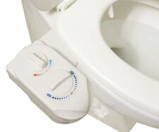 Hot Cold Nozzle Non-Electric Bidet Toilet Attachment Water Spray Bathroom Seat