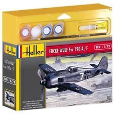Heller 50235G 1:72nd scale Gift Set Kit Paints Brush Glue Focke Wulf FW190 A8/F3