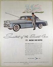 Vintage 1955 CHRYSLER DE SOTO Automobile Large Magazine Print Ad